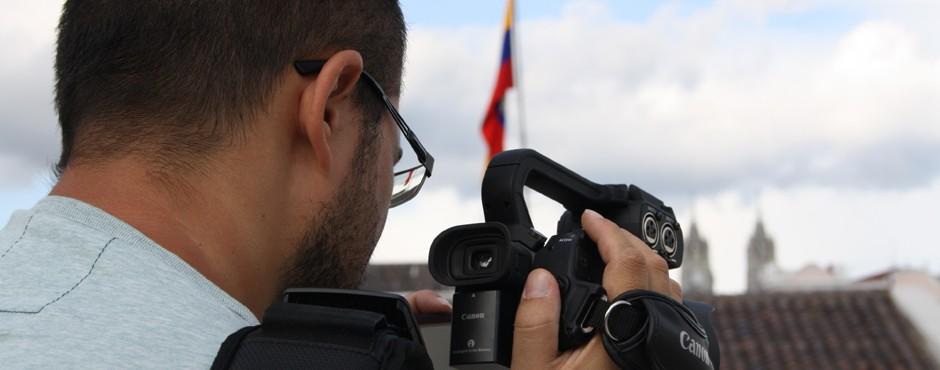 tournage à Quito
